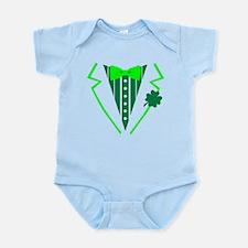St. Patrick's tuxedo Infant Bodysuit
