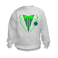 St. Patrick's tuxedo Sweatshirt