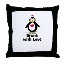 Drunk With Love Throw Pillow