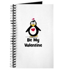 Be My Valentine Penguin Journal