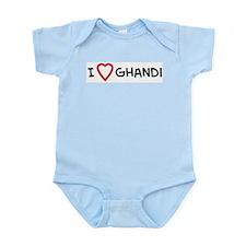 I Love Ghandi  Infant Creeper