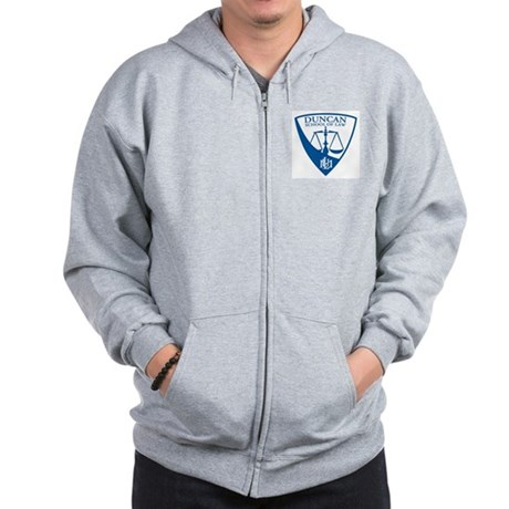 Duncan School of Law Zip Hoodie