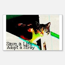 Adopt a Stray Decal