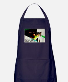 Adopt a Stray Apron (dark)