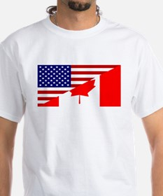 Canadian American Flag Shirt