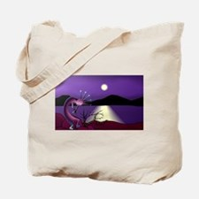 Kokopelli Climbing Stairs to the Sun Tote Bag