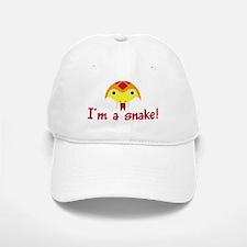 I'M A SNAKE Baseball Baseball Cap