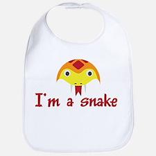 I'M A SNAKE Bib
