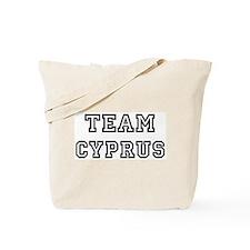 Team Cyprus Tote Bag