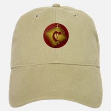 Bronze & Gold Kokopelli Baseball Baseball Cap
