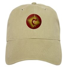 Bronze & Gold Kokopelli Baseball Cap
