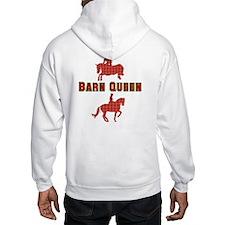 Barn Queen Plaid Hoodie
