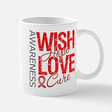 Heart Disease Wish Hope Mug