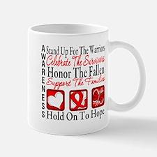 Heart Disease Honor Support Mug
