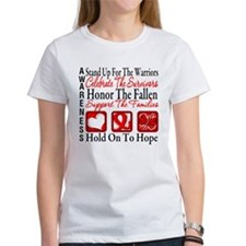 Heart Disease Honor Support Tee