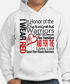 Heart Disease Tribute Ribbon Hoodie