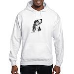 Basset Hound Hooded Sweatshirt