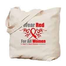 Heart Disease Red For Women Tote Bag