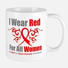Heart Disease Red For Women Mug