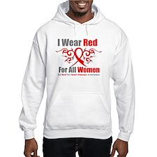 Heart Disease Red For Women Hoodie