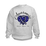 ALS Awareness Mosaic Kids Sweatshirt