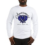 ALS Awareness Mosaic Long Sleeve T-Shirt