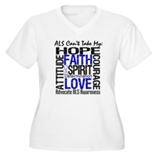ALS Can't Take My Hope T-Shirt