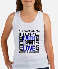 ALS Can't Take My Hope Women's Tank Top