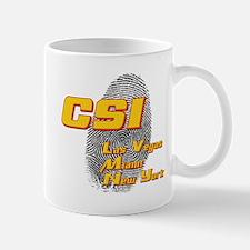 CSI Las Vegas Miami New York Mug