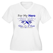 ALS For My Hero Tribal T-Shirt