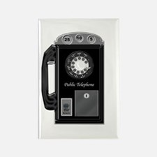 Pay Phone Rectangle Magnet