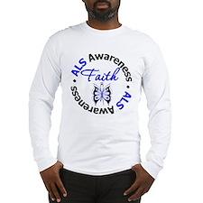 ALS Faith Butterfly Long Sleeve T-Shirt