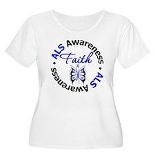 ALS Faith Butterfly T-Shirt