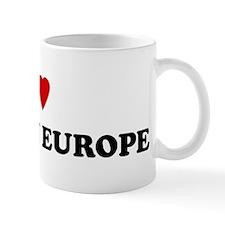 I Love Eastern Europe Mug