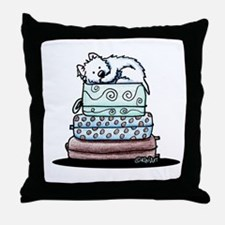 Not Without Me Throw Pillow