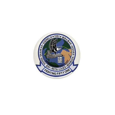 VF-51 Screaming Eagles Mini Button (100 pack)