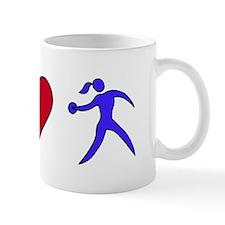 Peace Love Discus Mug