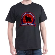 Polish Lowland Sheepdog Black T-Shirt