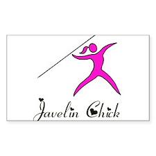Javelin Chick Decal