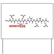 Genevieve molecularshirts.com Yard Sign