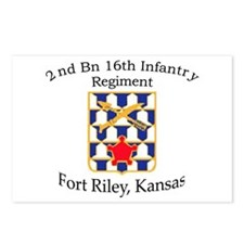 2nd Bn 16th Infantry Postcards (Package of 8)