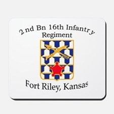 2nd Bn 16th Infantry Mousepad