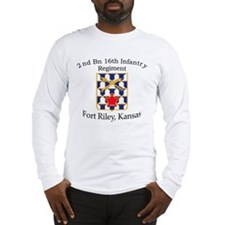 2nd Bn 16th Infantry Long Sleeve T-Shirt