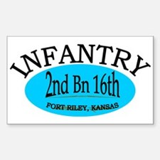 2nd Bn 16th Infantry Decal