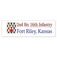 2nd Bn 16th Infantry Car Sticker