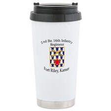 2nd Bn 16th Infantry Travel Mug