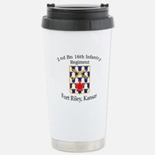 2nd Bn 16th Infantry Travel Mug