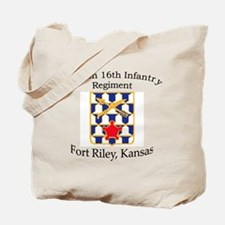 2nd Bn 16th Infantry Tote Bag