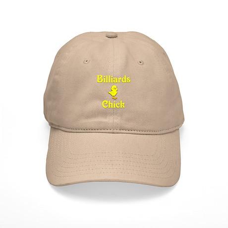 Billiards Chick Cap