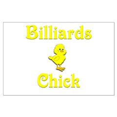 Billiards Chick Posters